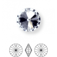 Rivoli Aufnähstein konisch 2 Loch 16mm Crystal F (BN011)