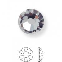 Rose Hotfix Strassstein ss6 Black Diamond HF