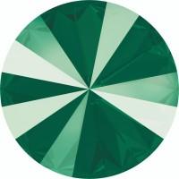 Rivoli Chaton 12mm Crystal Royal Green