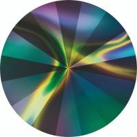 Rivoli Chaton 12mm Crystal Rainbow Dark F