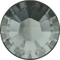 Xilion Rose Hotfix Strass ss10 Black Diamond HF