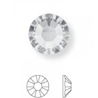 Xilion Rose Hotfix Strass ss10 Crystal Dark Grey HFT