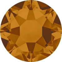 Xirius Rose Hotfix Strass ss34 Crystal Copper HF