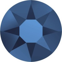 Xirius Rose Hotfix Strass ss12 Crystal Metallic Blue HF