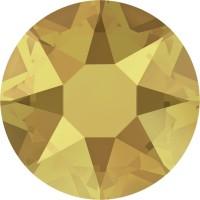 Xirius Rose Hotfix Strass ss16 Crystal Metallic Sunshine HF