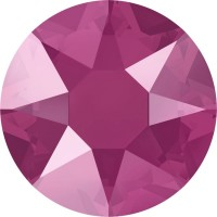 Xirius Rose Hotfix Strass ss16 Crystal Peony Pink HF