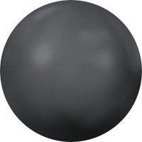 Cabochon Hotfix Halb-Perle ss10 Crystal Dark Grey Pearl HF
