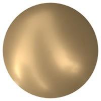 Cabochon Hotfix Halb-Perle ss16 Crystal Vintage Gold Pearl HF