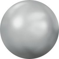 Cabochon Hotfix Halb-Perle ss10 Crystal Light Chrome HF