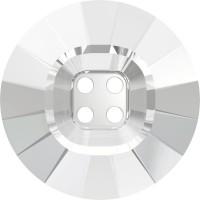 4 Hole Rivoli Button 23mm Crystal UF Transparent