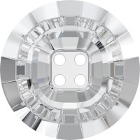 4 Hole Rivoli Button 23mm Crystal F
