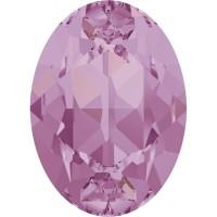 Oval 18x13mm Crystal Lilac Shadow F