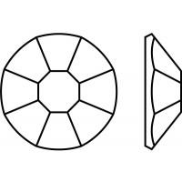 Rose 8 Facetten maschinengeschliffen ss5 Olivine F