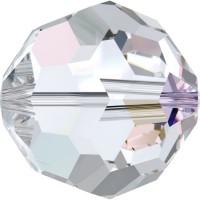 Round Perle (Großloch) 4mm Crystal AB
