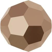 Round Perle (Großloch) 3mm Crystal Rose Gold