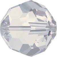 Round Perle (Großloch) 3mm White Opal