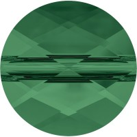 Mini Round Perle 6mm Emerald