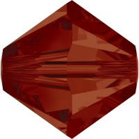 Xilion Perle 3mm Crystal Red Magma