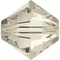 Xilion Perle 4mm Crystal Silver Shade