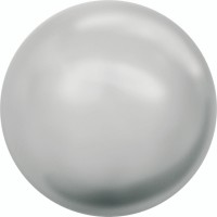 Crystal Round Peal 2mm Crystal Light Grey Pearl