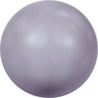 Crystal Round Pearl 2mm Crystal Mauve Pearl