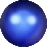 Crystal Pearls 5817 1/2drill Cabochon Pear 6mm Crystal Iridescent Dark Blue Pearl