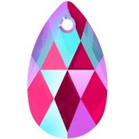Pear-shaped Anhänger 22mm Light Siam Shimmer