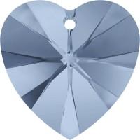 Xilion Heart Anhänger 14.4x14mm Denim Blue
