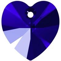 Xilion Heart Anhänger 14.4x14mm Majestic Blue