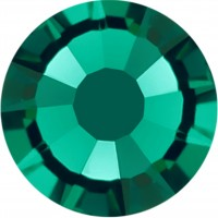 Rose Strass Hotfix ss10 Emerald HF