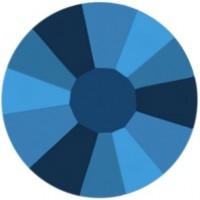 Rose Strass Hotfix ss30 Crystal Metallic Blue HF
