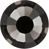 Rose Strass Hotfix ss6 Black Diamond HF