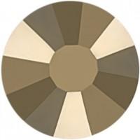 Rose Strass Hotfix ss10 Crystal Metallic Light Gold HF