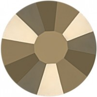Rose Strass Hotfix ss16 Crystal Metallic Light Gold HF