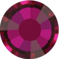 Rose Strass Hotfix ss30 Crystal Volcano HF