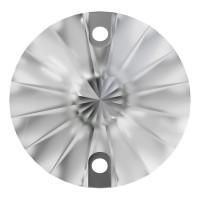 Rivoli Aufnähstein flach 2 Loch 12mm Crystal F