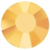 VIVA12 Rose Strassstein bleifrei ss6 (2.0mm) Crystal Aurum F (00030AUR)