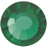 VIVA12 Rose Strassstein bleifrei ss6 (2.0mm) Emerald F (50730)