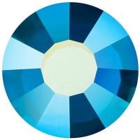 VIVA12 Rose Strassstein bleifrei ss6 (2.0mm) Capri Blue AB F (60310AB)