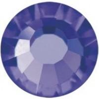 VIVA12 Rose Strassstein bleifrei ss8 (2.4mm) Deep Tanzanite F (20480)