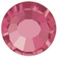 VIVA12 Rose Strassstein bleifrei ss8 (2.4mm) Indian Pink F (70040)