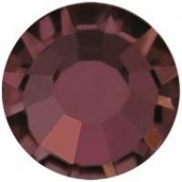 VIVA12 Rose Strassstein bleifrei ss8 (2.4mm) Burgundy F (90100)