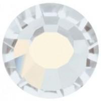 VIVA12 Rose Strassstein bleifrei ss30 (6.4mm) White Opal F (01000)