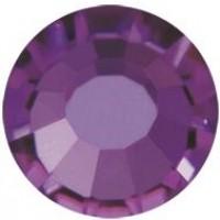 VIVA12 Rose Strassstein bleifrei ss30 (6.4mm) Amethyst F (20050)