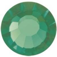 VIVA12 Rose Strassstein bleifrei ss30 (6.4mm) Green Turmaline F (50020)