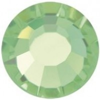 VIVA12 Rose Strassstein bleifrei ss30 (6.4mm) Peridot F (50520)