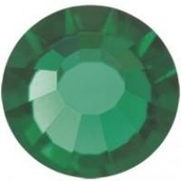 VIVA12 Rose Strassstein bleifrei ss30 (6.4mm) Emerald F (50730)
