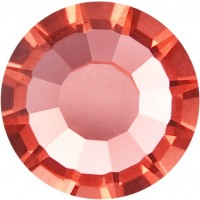 VIVA12 Rose Strassstein bleifrei ss30 (6.4mm) Padparadscha F (90350)