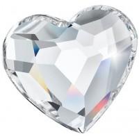 Heart Strassstein 6mm Crystal F (00030)