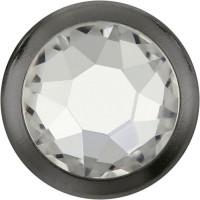 Xirius Rose Framed Hotfix Strass ss34 Crystal HF Silver Ring (SR)